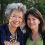 Author Adrienne Clarkson with Director Karen Cho