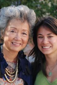 Author Adrienne Clarkson with Director Karen Cho